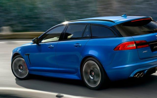 Jaguar a fini de construire des wagons sexy alors que les SUV dominent l'univers