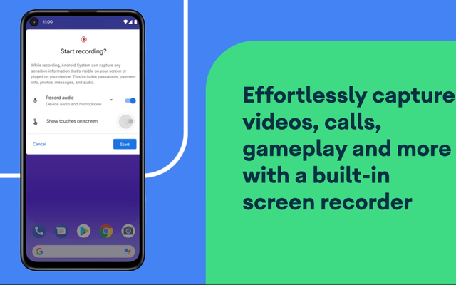 How to Legally Record Calls With Android 11's Screen Recorder