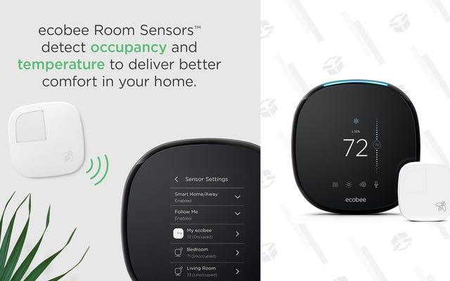 Améliorez votre maison avec un thermostat intelligent Ecobee4 pour seulement 169 $