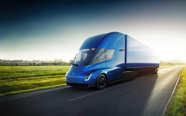 Tesla está colaborando con Pepsi y UPS para construir semi 'megacargadores' eléctricos: informe