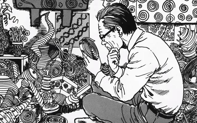 Le dernier teaser d'Uzumaki présente Junji Ito, le maître de l'horreur agréable et poli