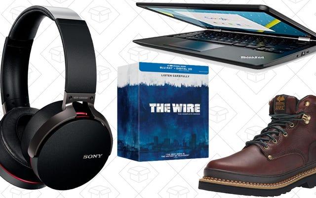 Bugünün En İyi Fırsatları: Erken Kara Cuma İndirimleri, ThinkPad Chromebook, İş Botları