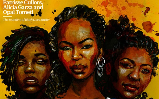 Black Lives Matter Founders Grace Cover of Time 100 Women of the Year Issue