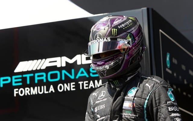 C'est étrange que Lewis Hamilton n'ait toujours pas de contrat pour courir en Formule 1 cette année