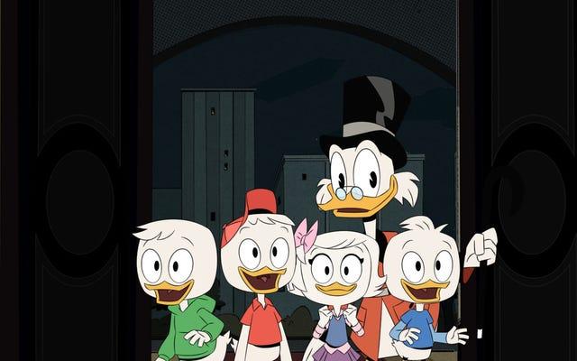 ゲイル・シモーンが#BestCartoonThemeSongのトレンドを獲得したので、ここにDuckTalesテーマの10バージョンがあります