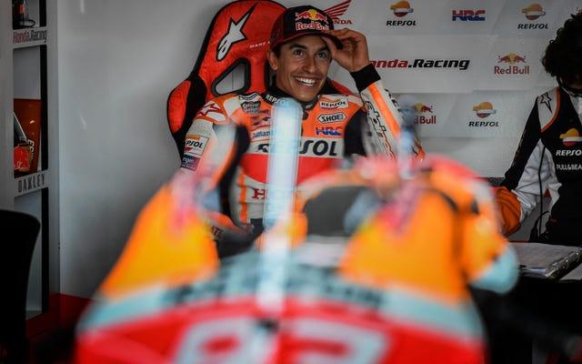 Марк Маркес вернулся в MotoGP после 265 дней и стал таким же сильным, как и когда-либо