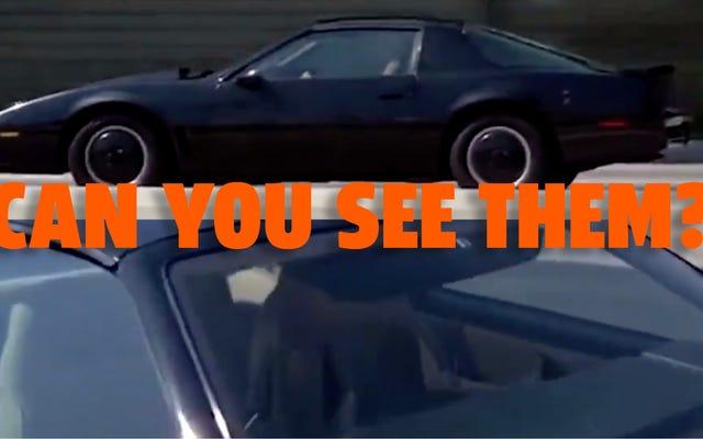 ナイトライダーは自動運転車を偽造するための最高のトリックを持っていました