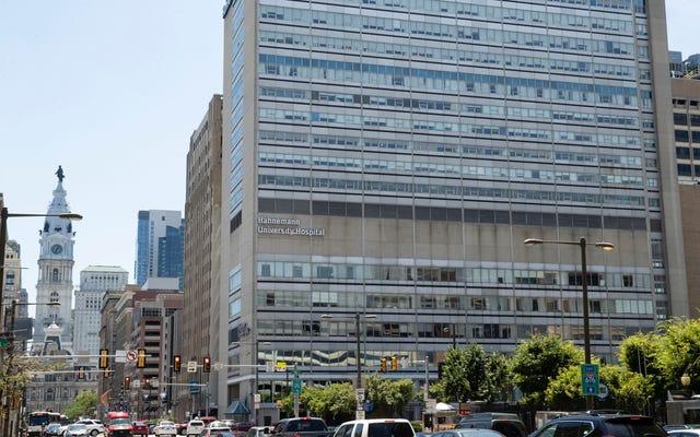 フィラデルフィア当局は、シャッター付き病院を所有するリッチジャークがCovid-19緊急事態に投資しようとしていると言います
