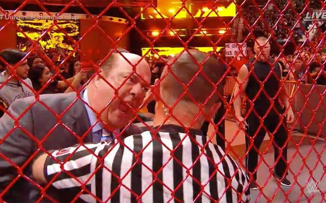 การจับคู่กรงของ WWE มีการรบกวนมากเกินไป