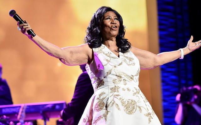 Aretha Franklin devient la première femme à remporter le prix spécial et la citation du prix Pulitzer