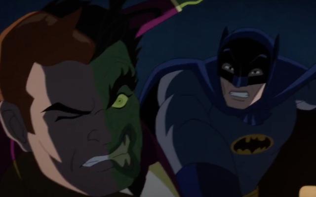 Adam West e William Shatner si affrontano in Batman vs. Due Facce è roba da sogni di supereroi campy