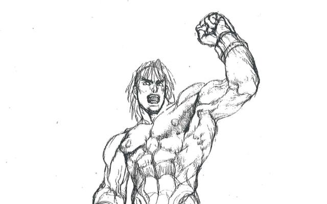 Référence anatomique humaine de Capcom pour les artistes
