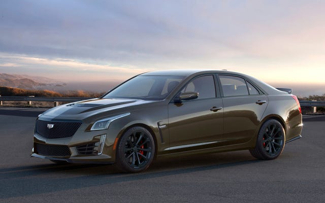 Cadillac Is Building 300 Special Pedestal Edition 2019 ATS-Vs and CTS-Vs and They're Brown <3