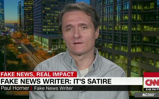 偽のニュースライターが処方薬の過剰摂取の疑いで死亡しているのを発見