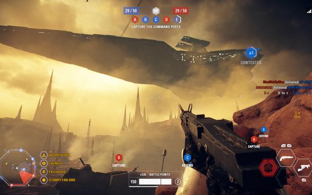 La nuova modalità di Star Wars: Battlefront II è divertente, quando funziona