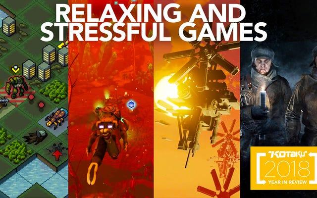 L'anno dei giochi rilassanti e stressanti