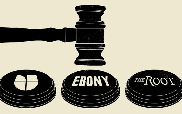 Vì vậy, Tạp chí Ebony đã đưa chúng tôi ra tòa