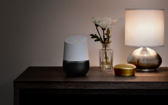 Google Homeは単なるスピーカーではなく、常に耳を傾ける音声アシスタントです。