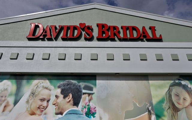 破産したデビッドの花嫁へのブライダル:落ち着きを保つ