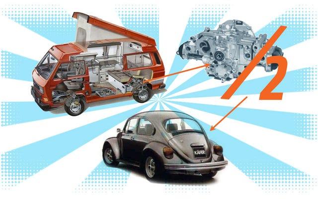 นี่คือข่าวคราวของ Volkswagen Beetle อายุ 27 ปีที่ใหญ่ที่สุดที่คุณจะได้ยินตลอดทั้งวัน