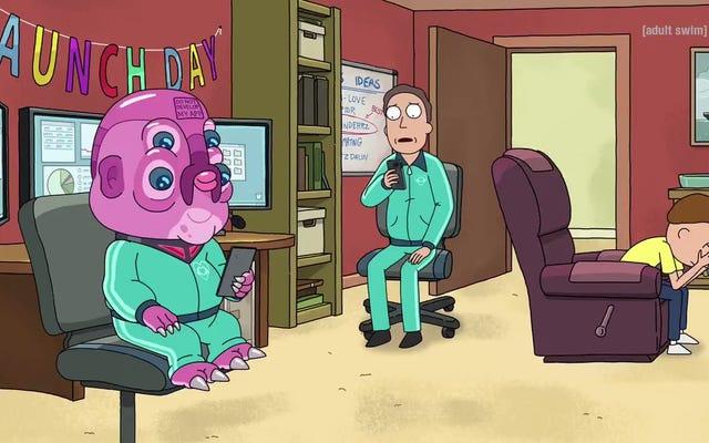 Sayangnya, ada aplikasi untuk semuanya dalam tampilan pertama Rick And Morty season 4 ini