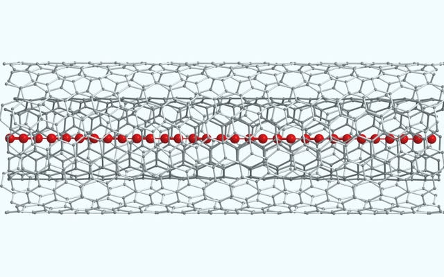 グラフェンには会社があります:彼らは最も硬い材料であるカルビンの鎖を安定させることができます