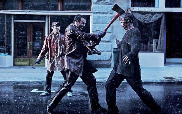 Puaskan haus darah Anda tanpa rasa bersalah dengan atraksi taman hiburan The Walking Dead