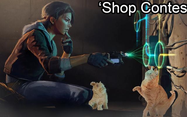 Конкурс магазинов: День уважения к кошке