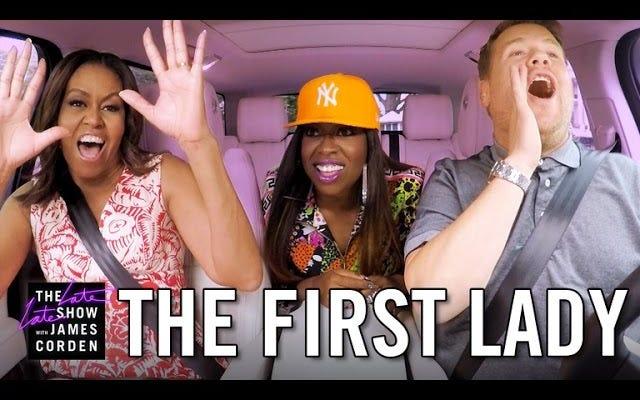 Лучшее караоке для автомобилей в истории с Мишель Обамой и Мисси Эллиотт