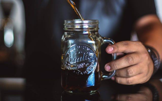 เครื่องชงกาแฟ Cold Brew ที่ผู้อ่านชื่นชอบคือโถบดและถุงนมอ่อนนุช