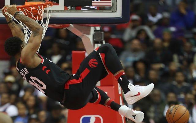 DeMar DeRozan ทำสำเร็จแล้วสำหรับ Raptors