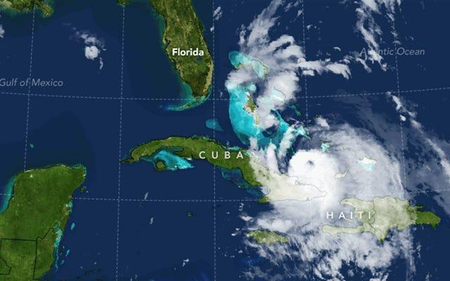 L'ouragan Matthew et son passage meurtrier dans les Caraïbes est un rappel macabre de l'avenir qui nous attend