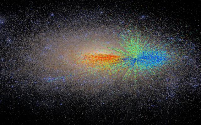 Peta Zaman Pertama Galaksi Bisa Mengungkap Asal Usul Kosmik Kita