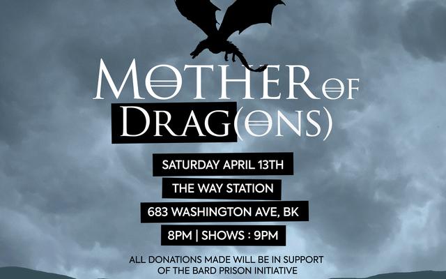 Bạn được mời tham gia 'Mother of Drag (ons)': Một màn biểu diễn kéo của io9 về băng và lửa