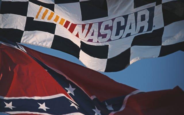 NASCARは、それが依然として白人至上主義のお気に入りのスポーツであることを確認します