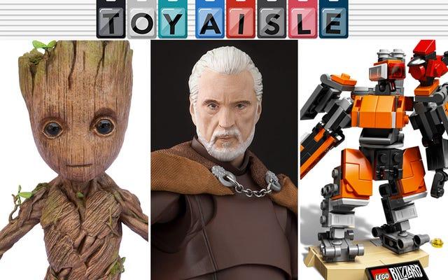 レゴのオーバーウォッチと野生のグルート人形は、今週の最も楽しいおもちゃの1つです