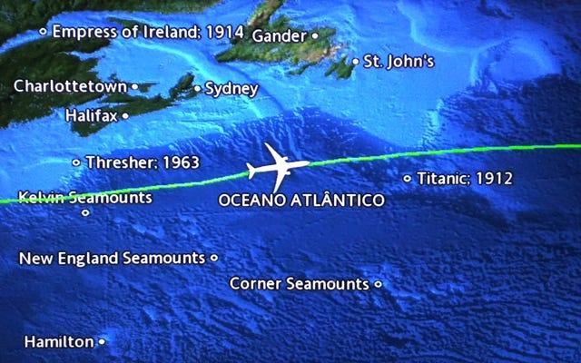 乗客画面のフライトマップに残骸が表示される理由