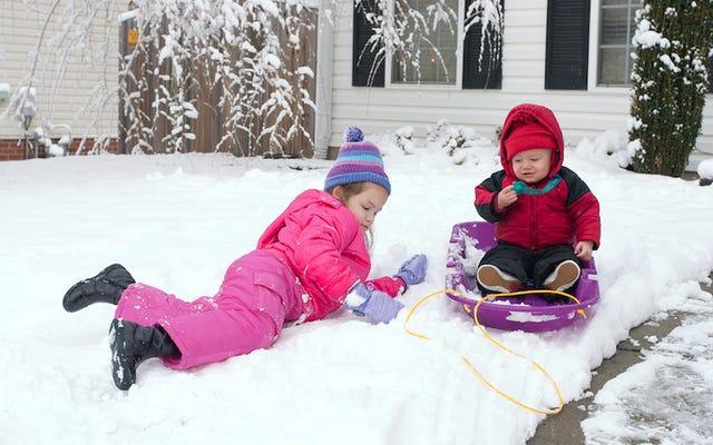 ある研究では、過去12時間に降った雪を食べても安全であると結論付けています