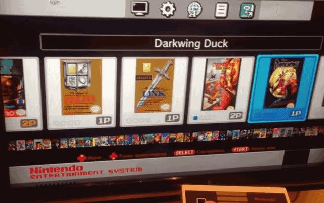 Nintendo Classic Mini взломан, чтобы добавить больше игр через USB-порт