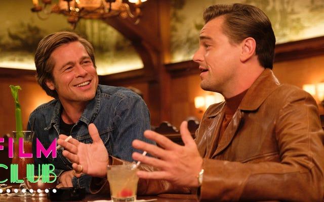 Quentin Tarantino nihayet videoyla sohbet filmini çekti ve siz onunla takıldıkça daha iyi hale geliyor
