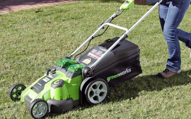 アマゾンで最も人気のある芝刈り機を50ドル以上節約