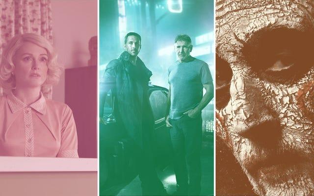 Blade Runners et massacres à la tronçonneuse, ainsi que 32 autres films à venir en octobre