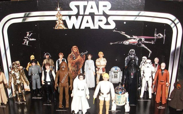 スターウォーズは、ヴィンテージのケナーのおもちゃの広告を通じて独自の歴史を追体験します