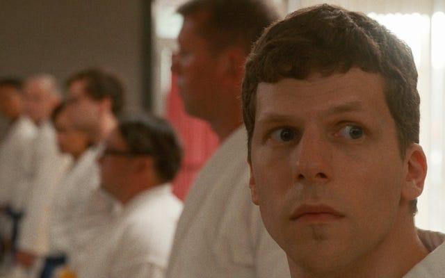 Jesse Eisenberg bir kemerde Öz Savunma Sanatını öğreniyor, komik karate hiciv