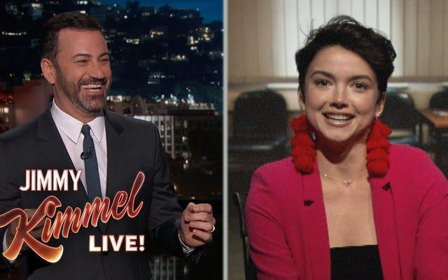 Kayıp Kişi/Lisans Yarışmacısı Kimmel'de Yeniden Ortaya Çıktı, Peter'ı Gerçekten İstediğini Kabul Etti (Aynı)