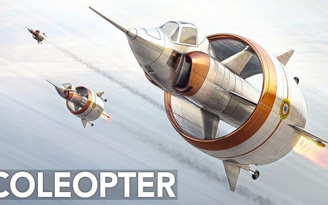 円筒形の翼の戦闘機の設計が決して完全に離陸しなかった理由はここにあります