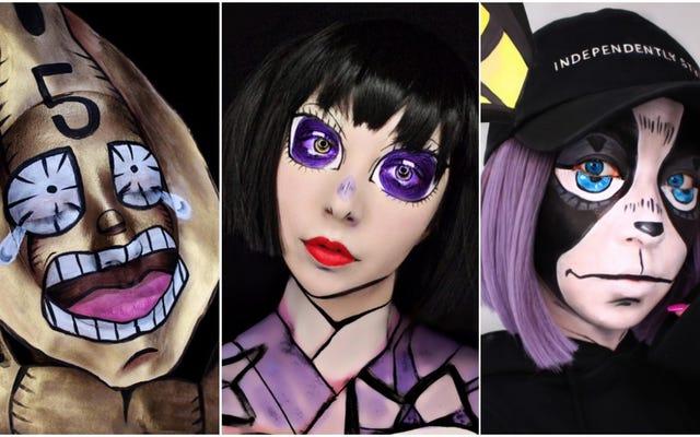 Dan Sekarang Untuk Beberapa Make-Up Anime Yang Luar Biasa