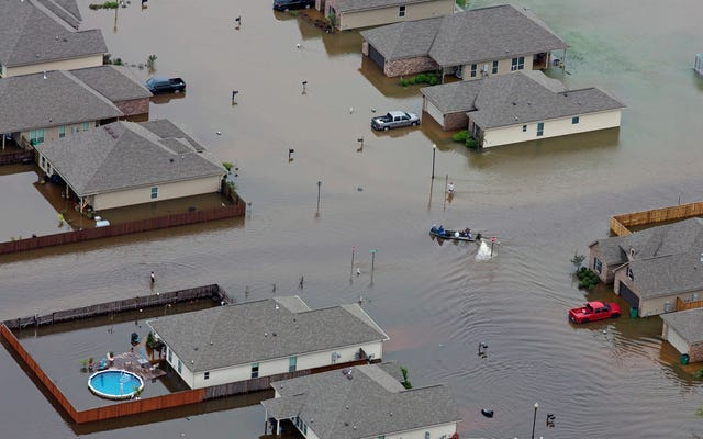 Por qué las inundaciones récord de este fin de semana en Luisiana fueron tan extremas