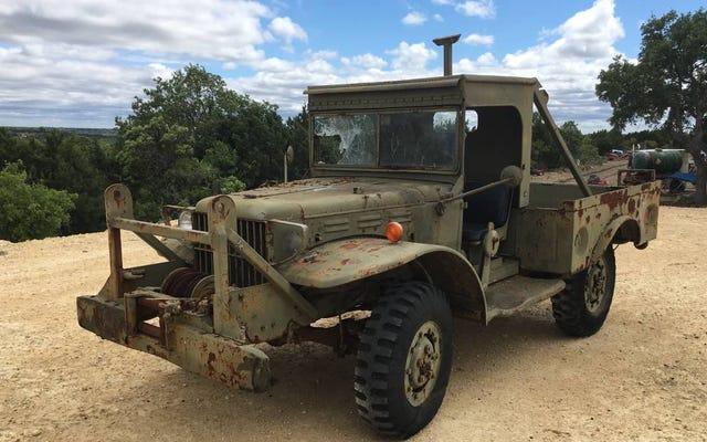 3,500ドルで、この1944ダッジWC-52軍用トラックは兵士の準備ができていますか?