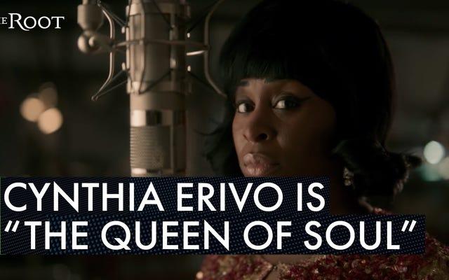 Cynthia Erivo เรียนรู้อะไรจาก Aretha Franklin วิธีขอสิ่งที่เธอสมควรได้รับโดยไม่ต้องกลัว